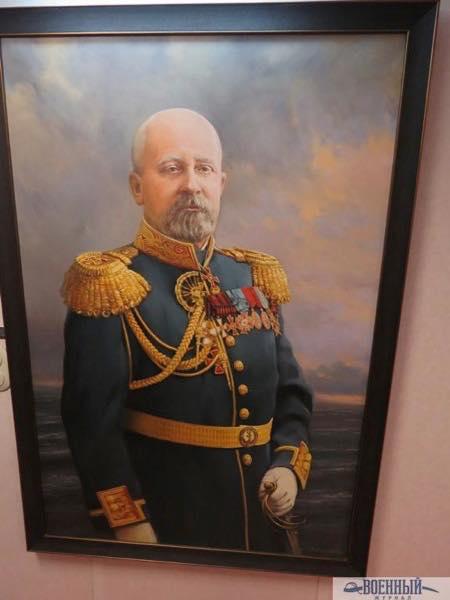 Портрет адмирала Эссена в кают компании фрегата