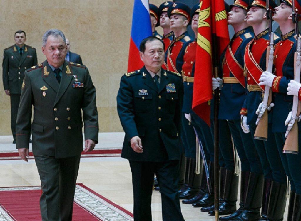 Встреча министров обороны россии и китая 3 апреля 2018