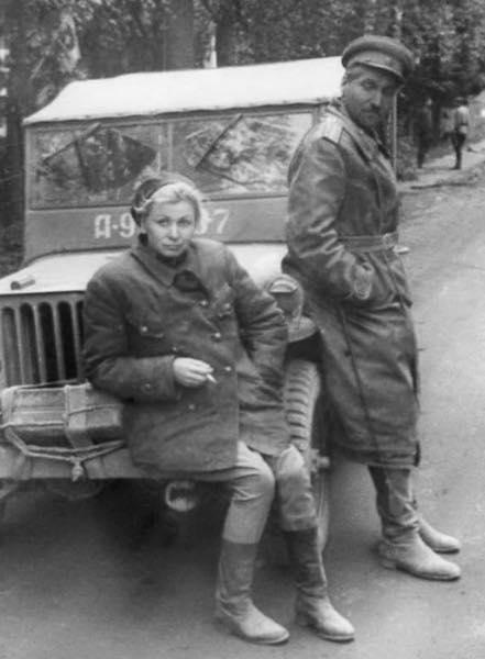 Константин Симонов и Валентина Серова