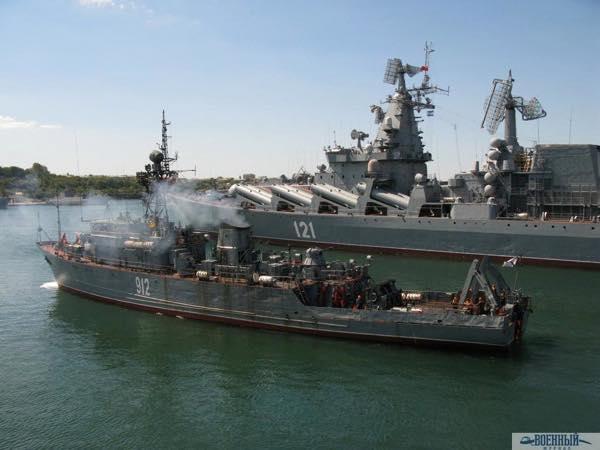 МТЩ «Турбинист» выходит в море