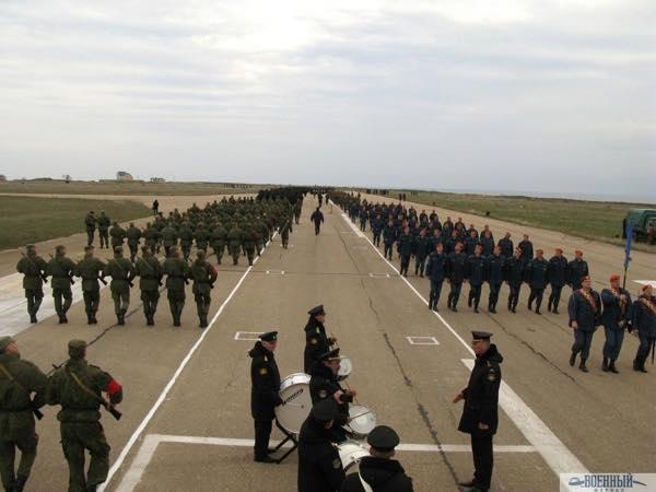 Репетиция Парада Победы в Крыму