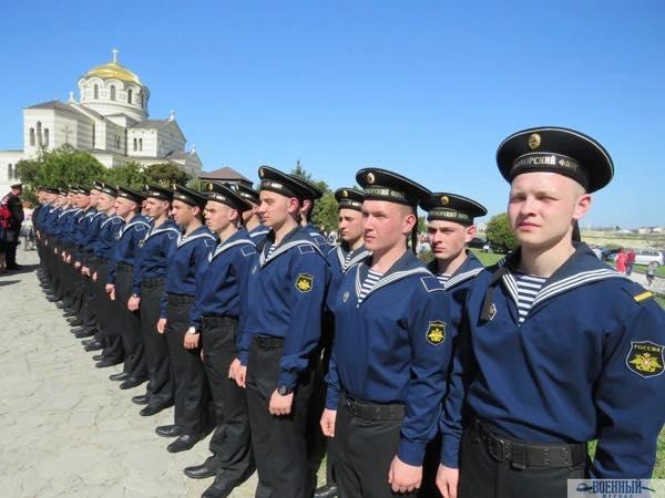 Черноморцы у Владимирского собора