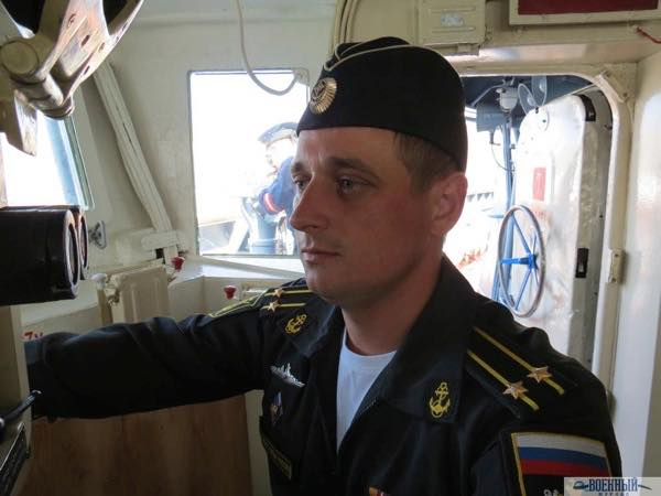 Командир «Пытливого» Иван Фадеев