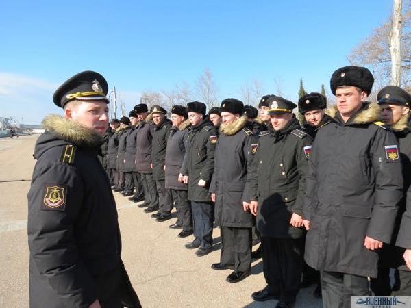 Командир и экипаж нового ТЩ Иван Антонов