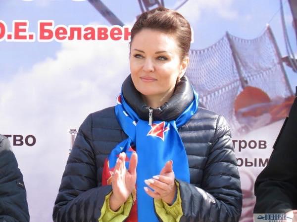 Начальник центра морской и физической подготовки филиала ЦСКА в Севастополе Оксана Тараненко