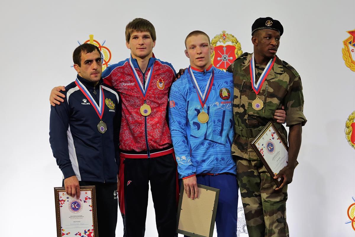 чемпионат Мира по борьбе среди военнослужащих