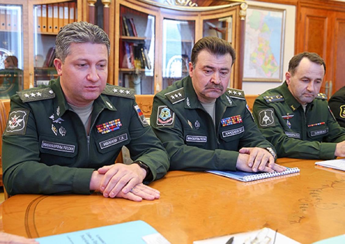Заместитель Министра обороны Российской Федерации Тимур Иванов