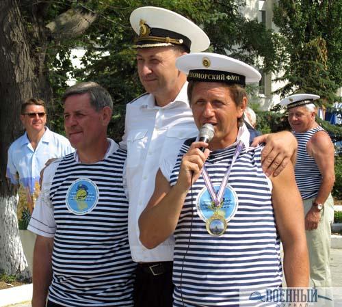 А. Ильин с победителями