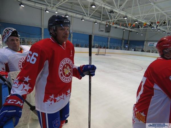 Александр Витко в хоккейной форме