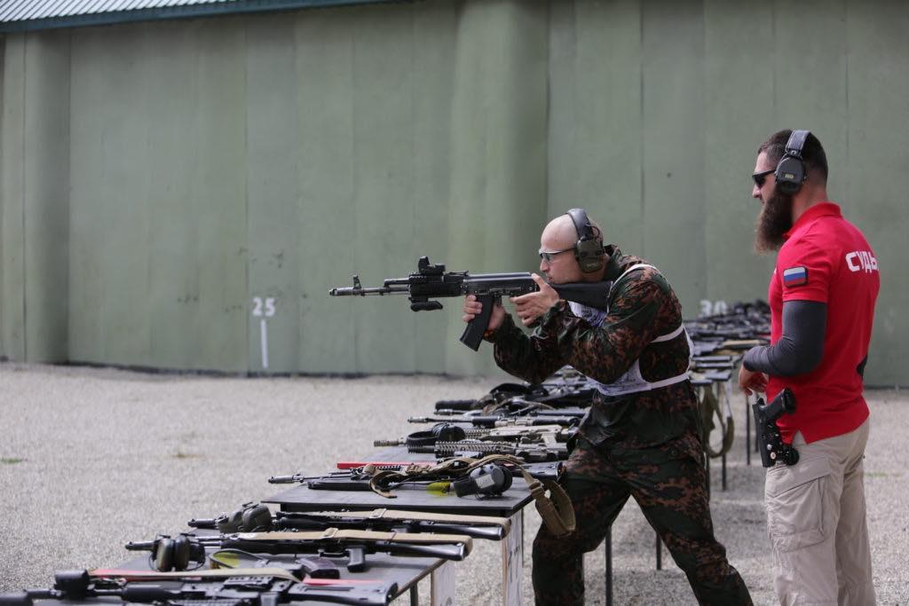 соревнования по тактической стрельбе
