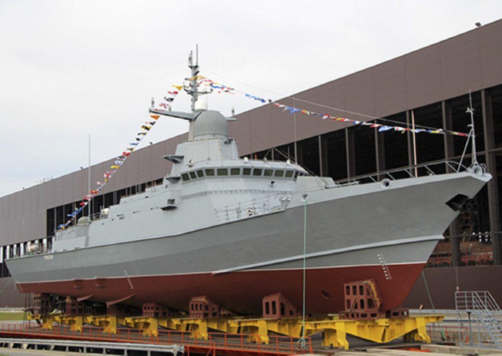ракетные корабли проекта 22800
