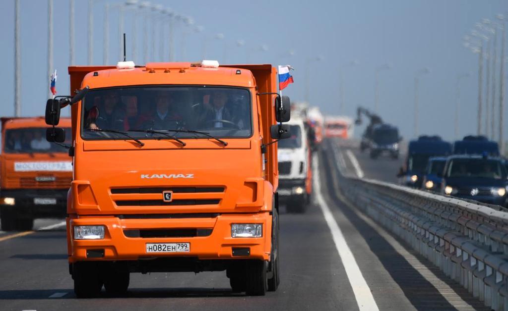Путин. Открытие Крымского моста