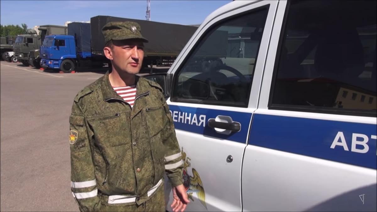 прапорщик Ильдар Бахтияров