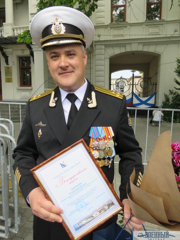 Воробьеву благодарность от губернатора