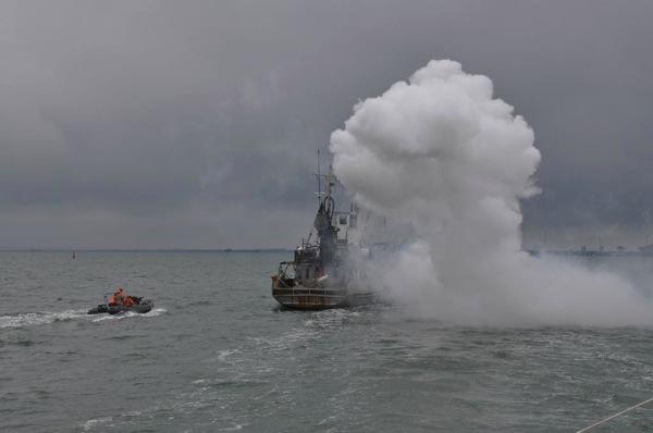 Антитеррор подход к судну