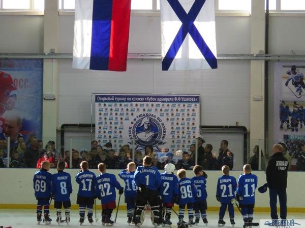 Флаги хоккеисты