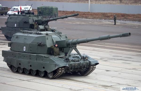 152-мм самоходная гаубица «Коалиция-СВ»