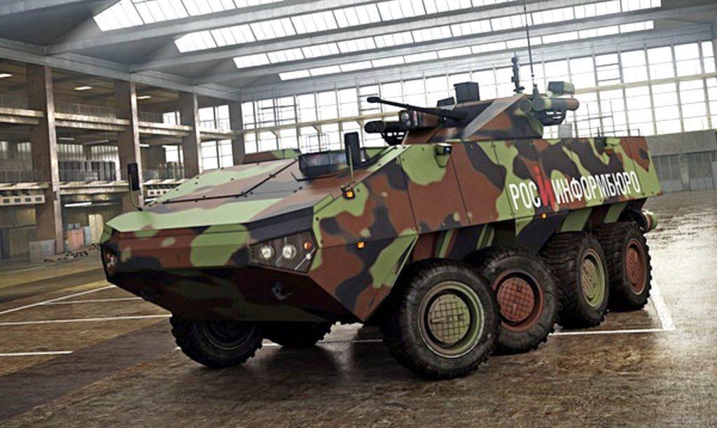 Новейшие образцы вооружения и военной техники