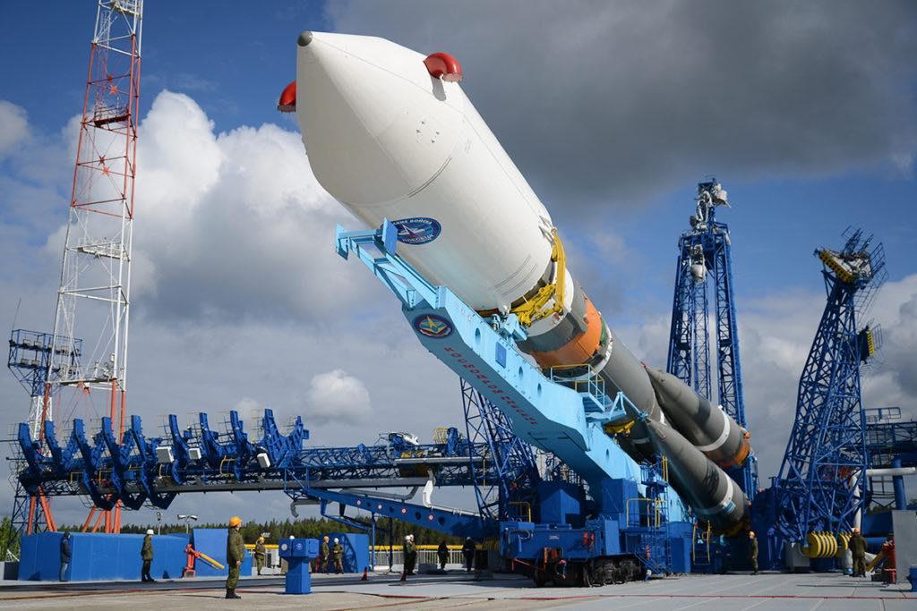 пуск ракеты-носителя «Союз-2»