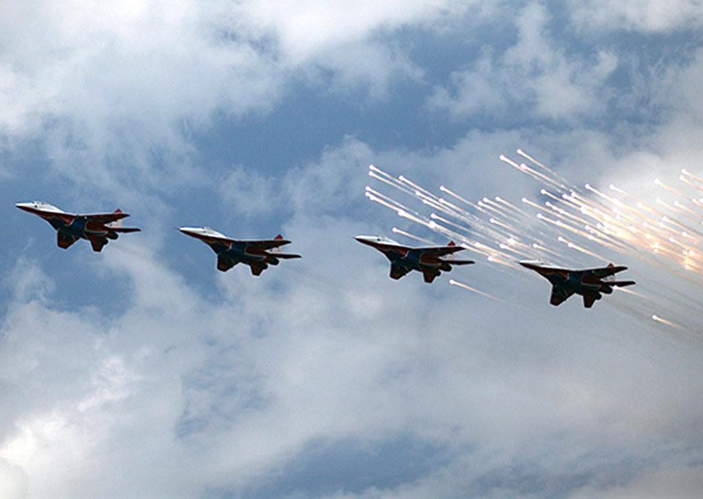 группа высшего пилотажа военно-воздушных сил России «Русские Витязи»