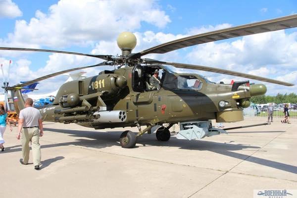 Вертолет Ми-28НМ «Ночной охотник»