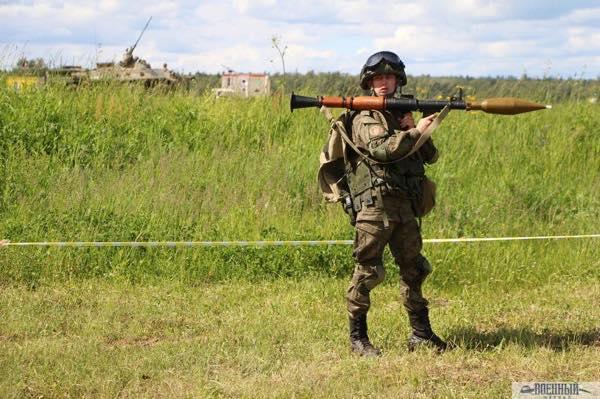 Ручный противотанковый гранатомет РПГ 7В