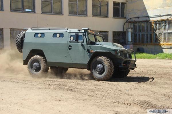 Армейский бронеавтомобиль «Тигр»