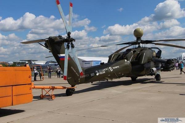 Вертолет Ми 28НМ Ночной охотник