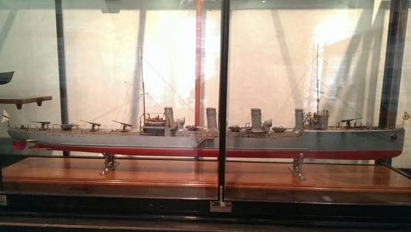Модель эсминца «Новика»