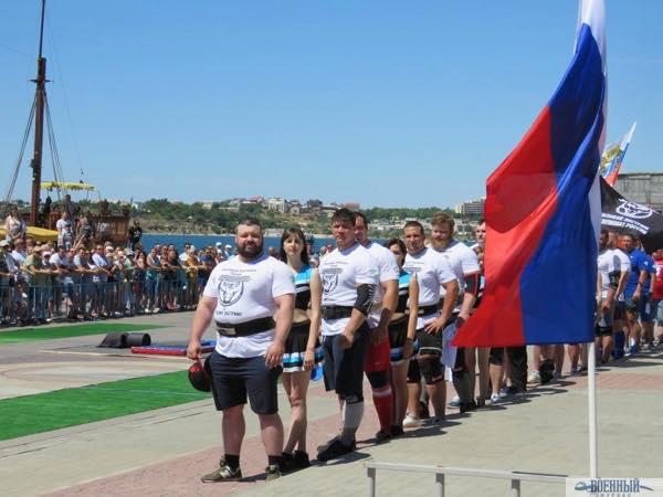 Парад атлетов
