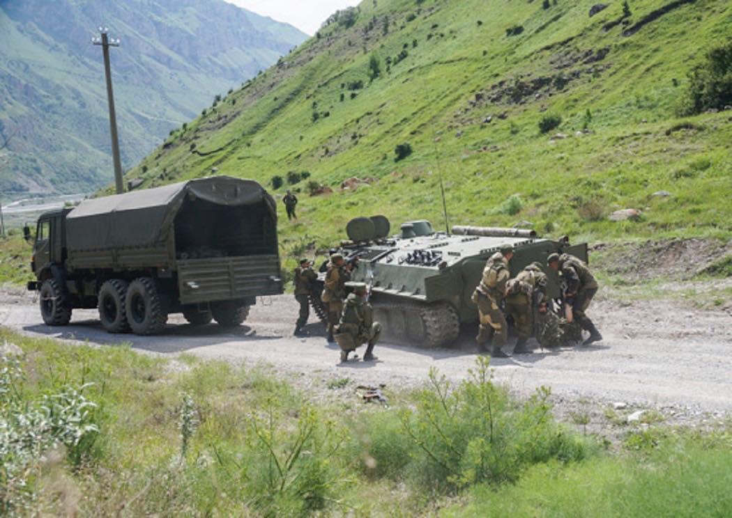 Разведчики ЮВО уничтожили лагерь подготовки диверсантов