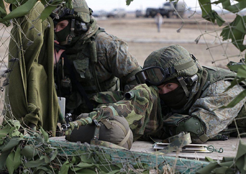всеармейские соревнования «Отличники войсковой разведки»