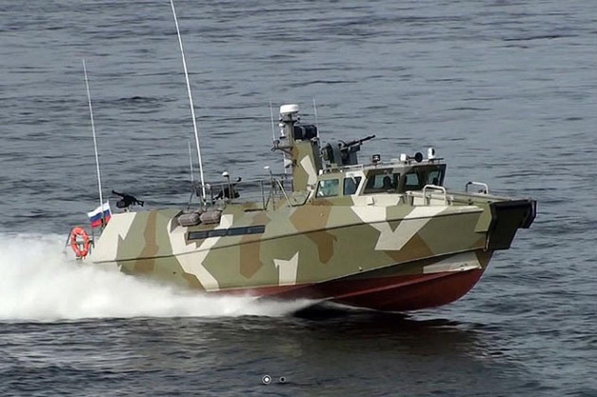патрульный катер «Раптор»