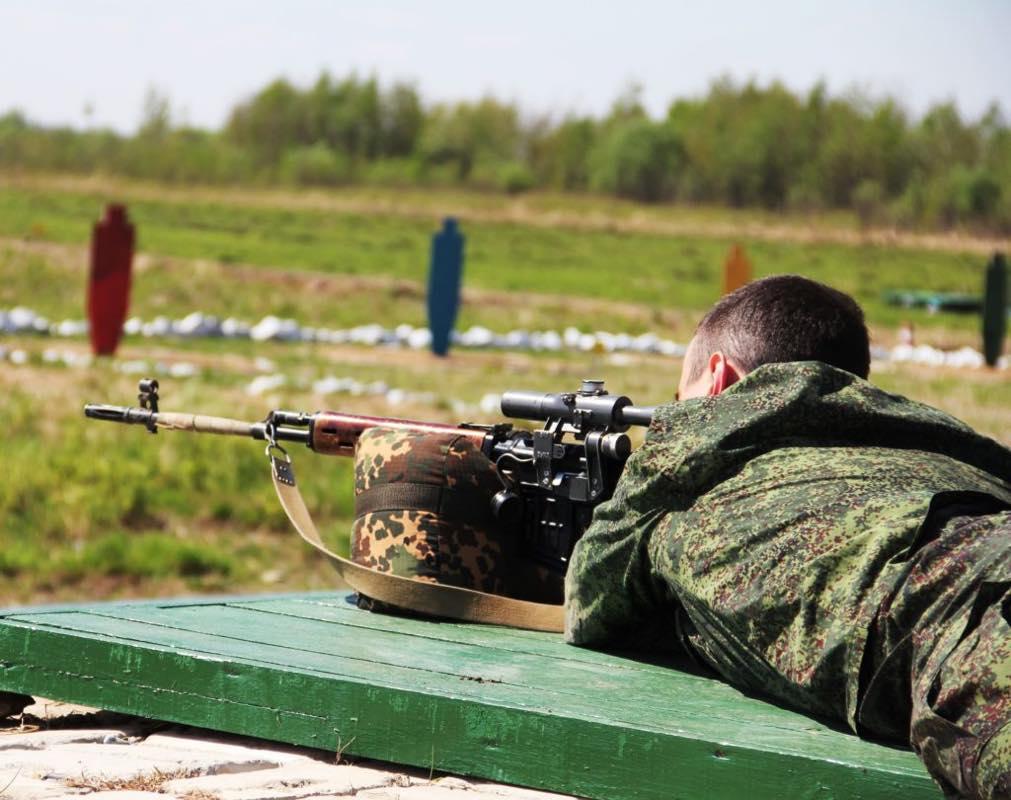 конкурс «Снайперский рубеж»
