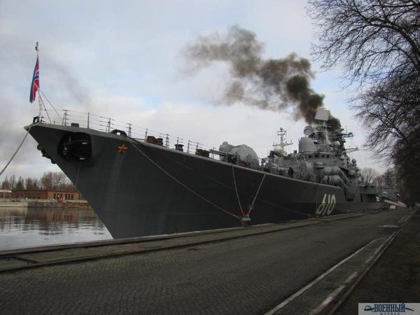 Флагман Балтфлота эсминец «Настойчивый»