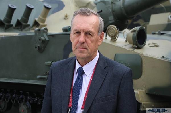 Главный конструктор Спрута Валерий Езерский
