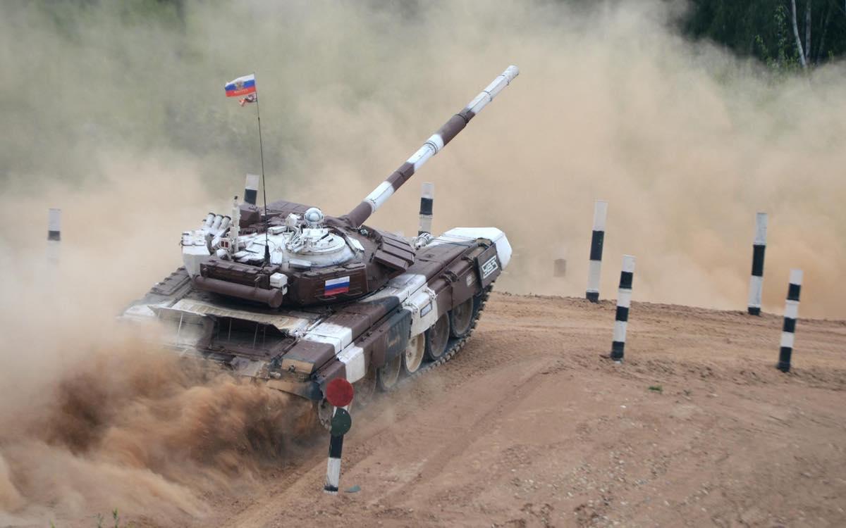 46-тонный Т-72Б3