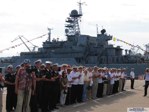 черноморцы и ветераны 5-й эскадры