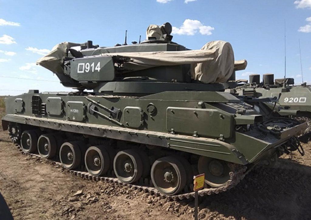 ЗПРК «Тунгуска-М1»