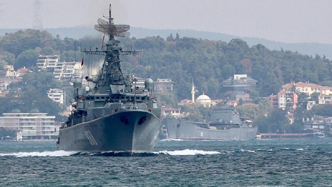учения ВКС и ВМФ в Средиземном море