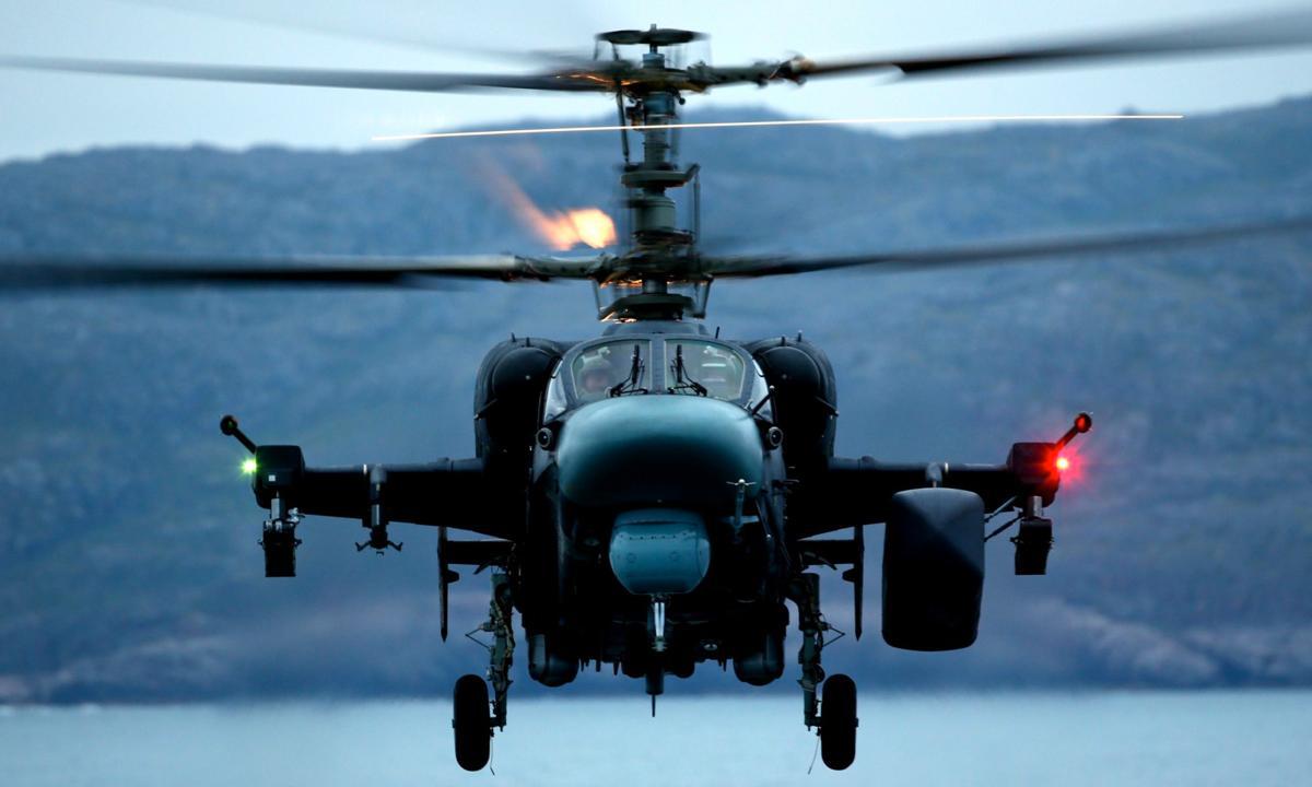 Ка-52 «Аллигатор»