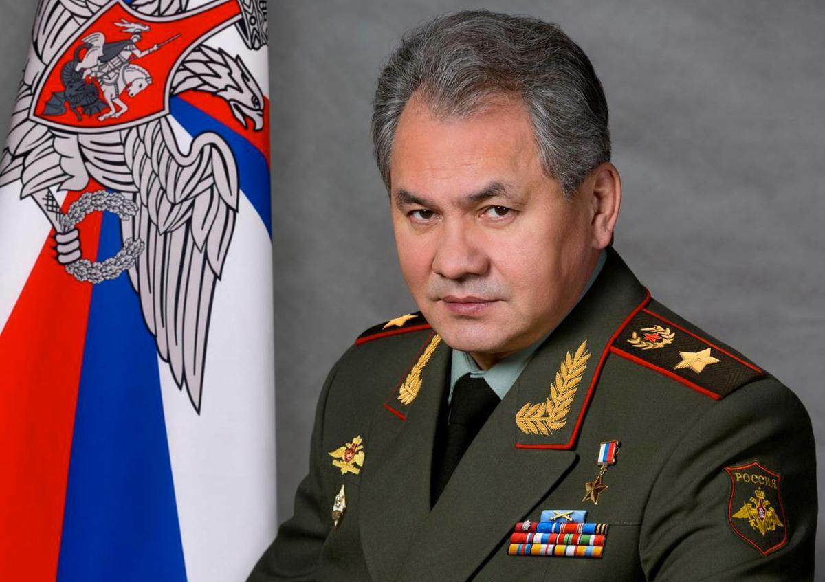 Генерал армии Сергей Шойгу