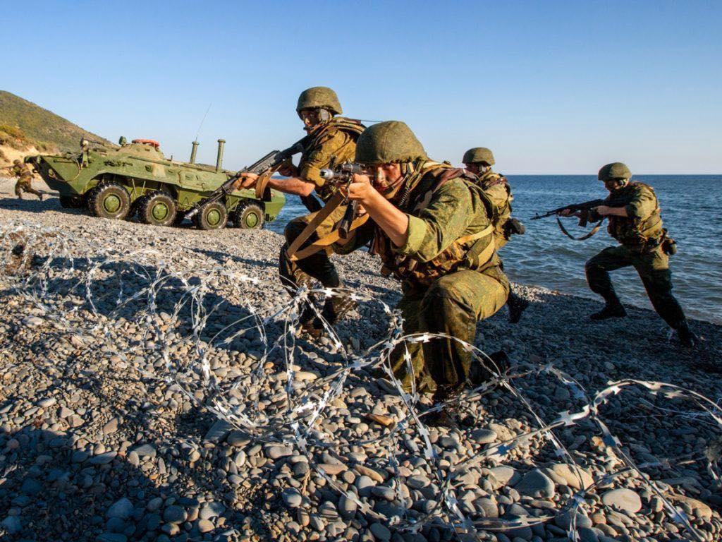 морская пехота чф учения