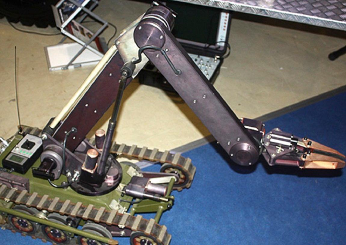 Робот-сапер «Кобра-1600»