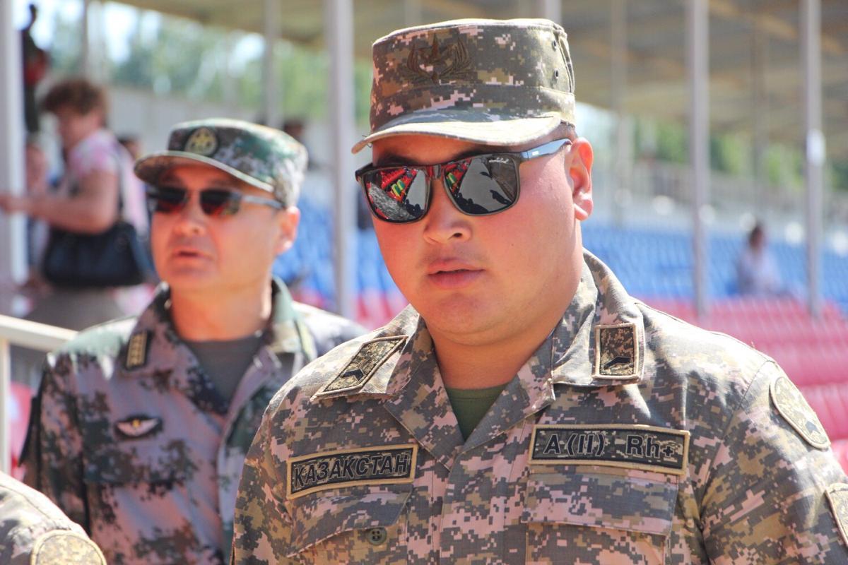 Казахские танкисты – серьезные противники.