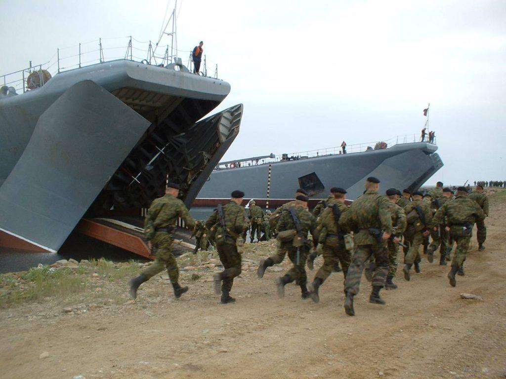 Морпехи Балтийского флота
