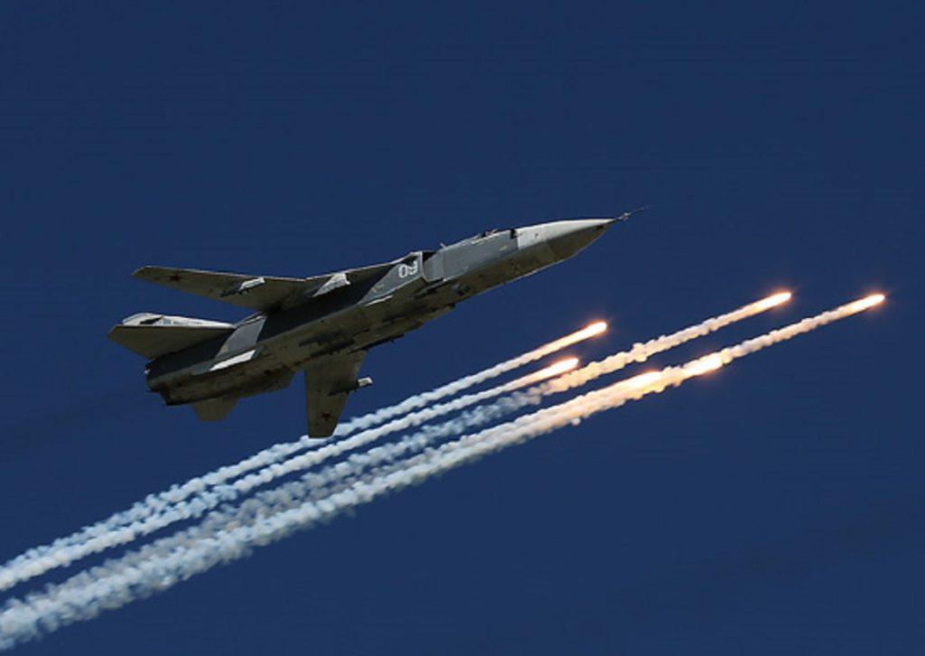 Авиация ЮВО отразила массированный ракетный удар