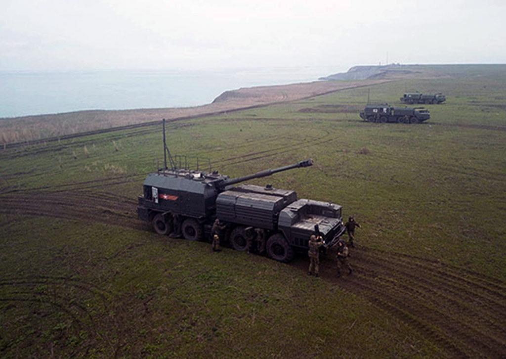 мобильный береговой противокорабельный комплекс «Бастион»