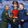 Сергей Шойгу вручил главную награду фестиваля «Армия России» летчику-курсанту