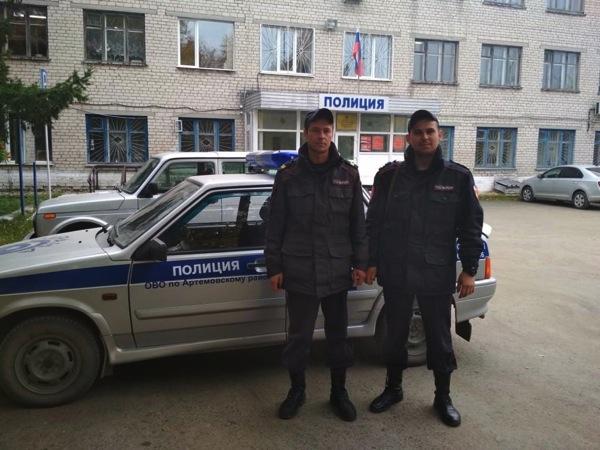 Старший сержант Владимир Федоровских и младший сержант Сергей Соргин